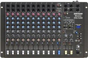 Mesa de Som Audio Stereo CICLOTRON AMW 12 ESD