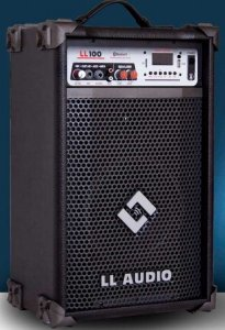 CAIXA AMPLIFICADA MULTIUSO LL100BT COM USB E BLUETOOTH LL AUDIO