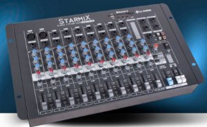 MESA DE SOM STARMIX S1002D BT- 10 CANAIS LL AUDIO