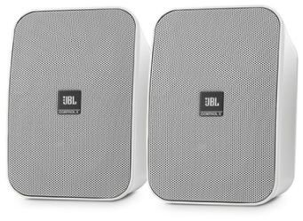 CAIXA DE SOM JBL CONTROL X ( ALL WEATHER ) ( PAR ) COR BRANCA