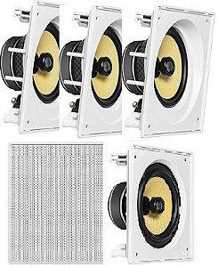 Caixa de Som JBL kit Home com 3 cxs CI6SA e 2 cxs CI6S