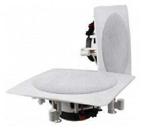 Caixa de Som Ambiente Gesso Quadrada Branca DONNER DR650 ( PAR )