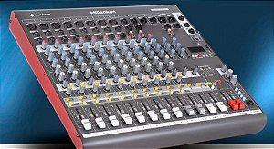 Mesa de Som LL Áudio Milenium M M1202D