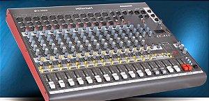 Mesa de Som LL Áudio Milenium M M1602D