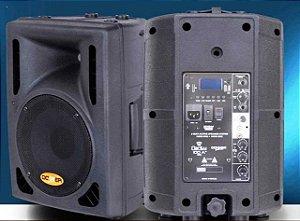 Caixa Acústica Ativa Clarity Donner CL100A BT C/ USB E BLUETOOTH + Caixa Passiva CL100P