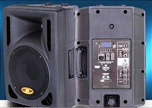 Caixa Acústica Ativa Clarity Donner CL150A BT C/ USB E BLUETOOTH + Caixa Passiva CL150P