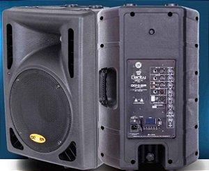 Caixa Acústica Ativa Clarity Donner CL300A BT C/ USB E BLUETOOTH + Caixa Passiva CL300P