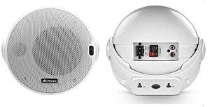 Caixa Frahm CR BT 4¨ Ativa + Passiva Bluetooth 80W