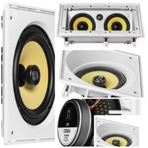 Kit Home JBL  5 caixas ( 2 pçs  CI8SA + 1 pç CI55RA + 2 pçs CI8S )