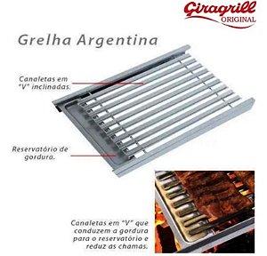 GRELHA ARGENTINA GA510 INOX - GIRAGRILL