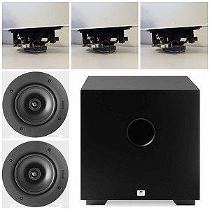 Kit Home 5.1 AAT ( 3 cxs NQ6 A100 + 2cxs NQ6100 + Sub Comp Cube 8 )