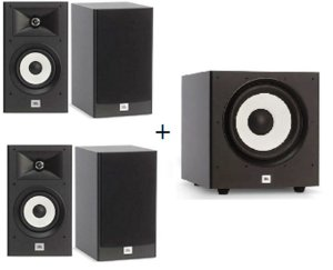 kit Home JBL 4.1  Stage - 4 Caixas A130 + 1 Subwoofer A100P Stage
