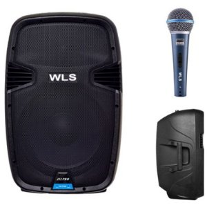 Caixa Acústica WLS  J12 PRO Ativa +  Microfone M58A