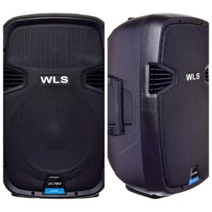 Caixa Acústica WLS  J12 PRO Ativa + Caixa J12 PRO Passiva
