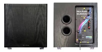 Subwoofer New Audio Sub 200CD 10 pol  200 Wrms