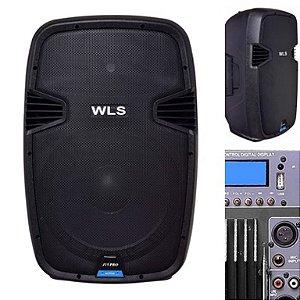 Caixa Acústica  WLS J15 PRO Ativa com Bluetooth