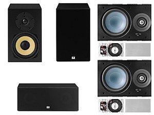 Kit Home 5.0 AAT ( 2 Cxs Rakt BSF-70 + 1 Cx Rakt C-140 + 2 Cxs LRE100 )