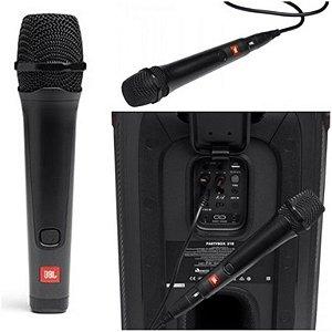 Microfone JBL PBM100 karaokê com fio
