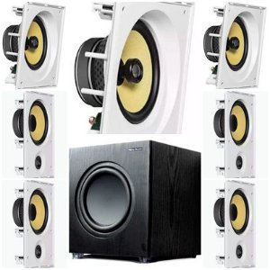 kit Home JBL 7.1- 3 cxs CI6SA e 4 cxs CI6R + Subwoofer Sub200 New Audio