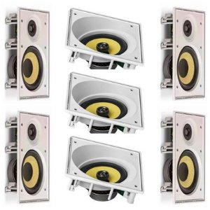 kit Home JBL 7.0 - 3 cxs CI6SA e 4 cxs CI6R