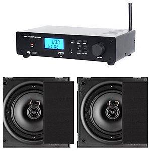 Amplificador AAT  BTA-2  ST + 4 Cxs Frahm 6CX 50w Cor Preto