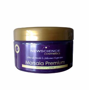Marsala Premium - Máscara Capilar