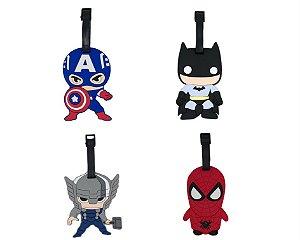 Tag Para Bagagem Super Heróis