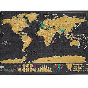 Mapa do Mundo de Raspar - venda por atacado