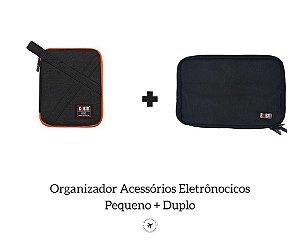 Kit 2 Organizadores de Eletrônicos