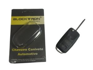 Chave canivete, Bipartido P/ ALARMES Blocktron