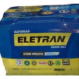 Bateria Eletran 60 Amp  A BASE DE TROCA