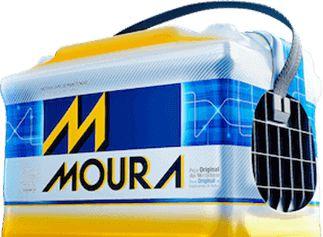 48 Ah Bateria Moura  GM: Celta , Corsa .