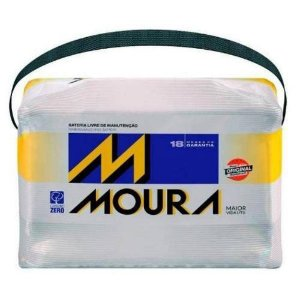 Bateria Moura 40 Amperes - Primsa - Onix - Siena - Gol