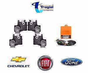 Trava Elétrica - 4 portas - TP4 - PAKTTPMN002 MODELO ORIGINAL GM/FIAT/FORD