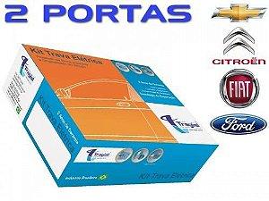 Kit Trava Elétrica 2 Portas Tragial Tp2 GM/FIAT/FORD