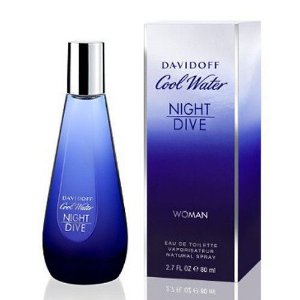 PERFUME COOL WATER NIGHT DIVE DAVIDOFF FEMININO EAU DE TOILETTE 80ML