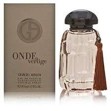 Giorgio Armani Onde Vertige Edp 50ml spray de perfume para mulheres-