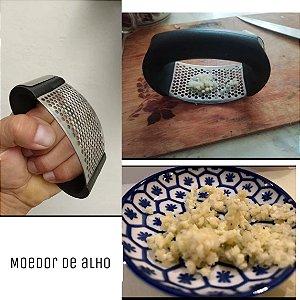 Moedor De Alho Para Sua Casa Comida Cozinha