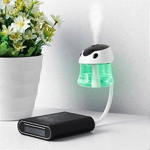 Purificador umidificador de Ar Portátil USB Universal Mini coloque aroma carro casa
