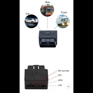 ObdII Gps Rastreador Carro Mini Gsm ObdII Dispositivo 16 pinos