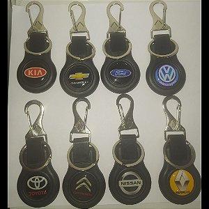 Chaveiro de Plástico Injetado para chave de carro