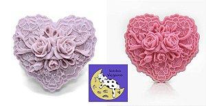 Série Luxo: sabontes veganos flores, buque de rosas e de coração Lembrancinha de debutante casamento bodas