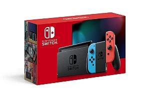 Console Nintendo Switch Neon Modelo Nacional