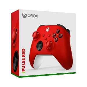 Controle Sem Fio Xbox Pulse Red - Series X, S, One - Vermelho