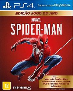 Marvel's Spider Man Homem Aranha GOTY Edition Para PS4