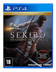 Sekiro Shadow Die Twice Goty Edition PS4