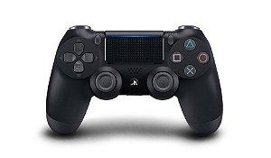 Controle Sony DualShock 4 ( JET BLACK )