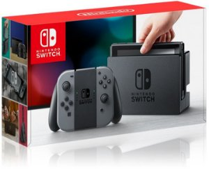 Nintendo Switch 32GB Gray USA