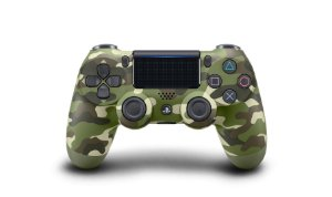 Controle Sony DualShock 4 ( Camuflagem Verde )
