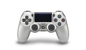 Controle Sony DualShock 4 ( SILVER )